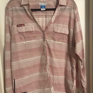 Columbia blouse Large